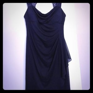 Scarlett Navy Blue Sheath Dress Size 12
